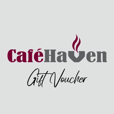gift voucher by café haven