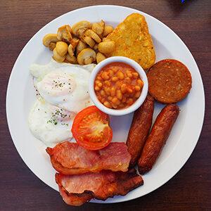 cafe haven's full Irish breakfast