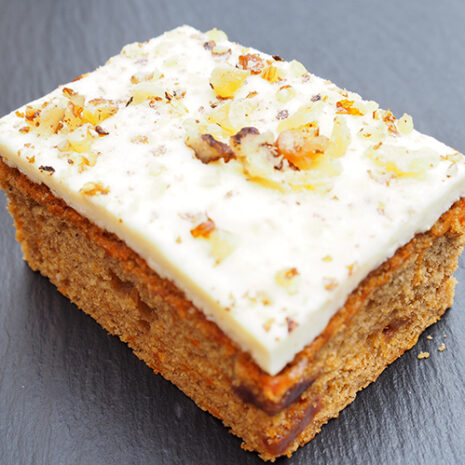 carrot cake by café haven
